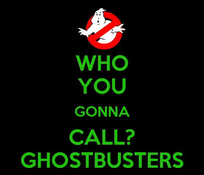 Who You Gonna Call Ghostbusters Poster Jules Keep