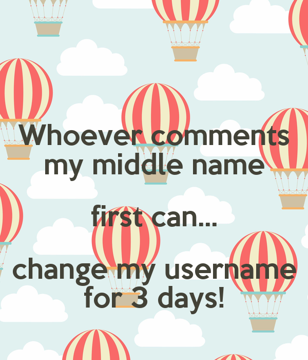 Can i change my middle name uk