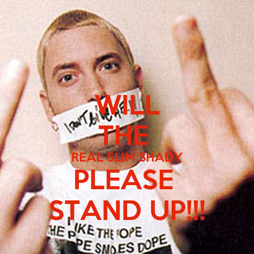 New will the real slim shady memes