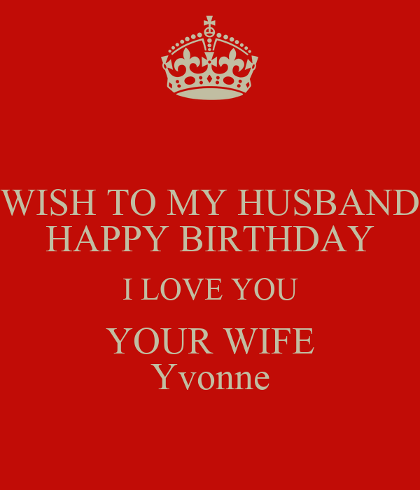 Happy Birthday Love You Wife | www.imgkid.com - The Image ...
