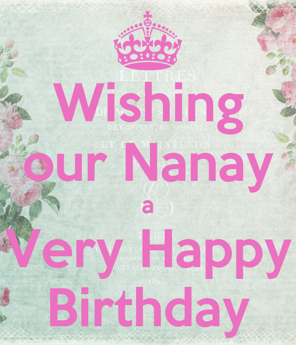 Wishing our Nanay a Very Happy Birthday Poster | junix ...