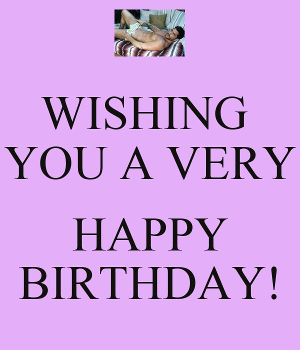 Wishing You A Very Happy Birthday Poster Belle Keep Wish Ua Happy Birthday