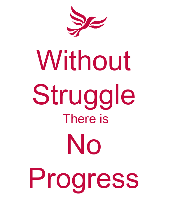 There can be no progress without conflict Essay