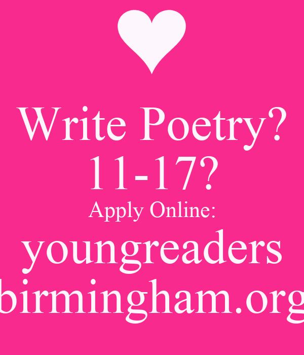 Write poems online