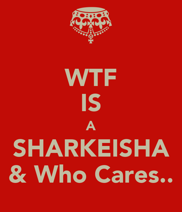 Wtf is a sharkeisha who cares poster anna haim for Wtf is a haim shirt
