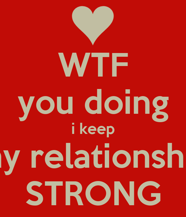 how strong is my relationship