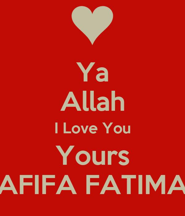 I Love Fatima Gifts on Zazzle