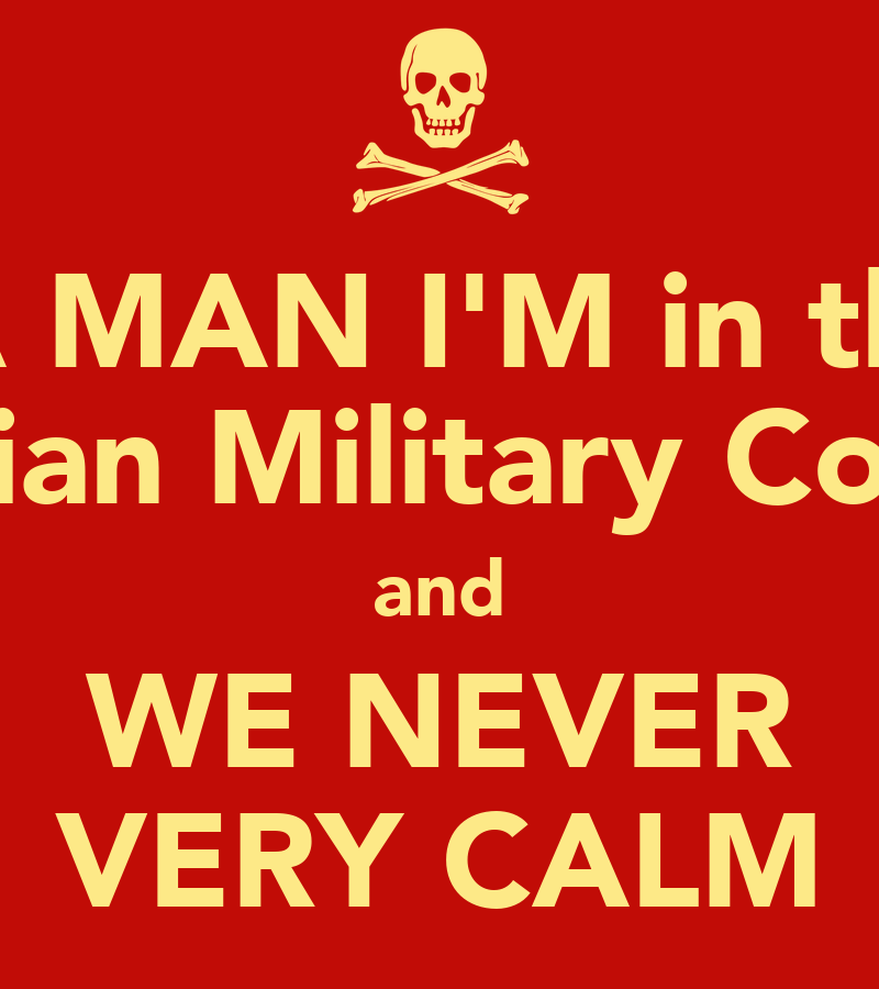 YA MAN I'M in the Syrian Military Co-op and WE NEVER VERY ...