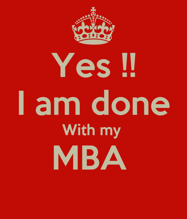 Why i am pursuing an mba