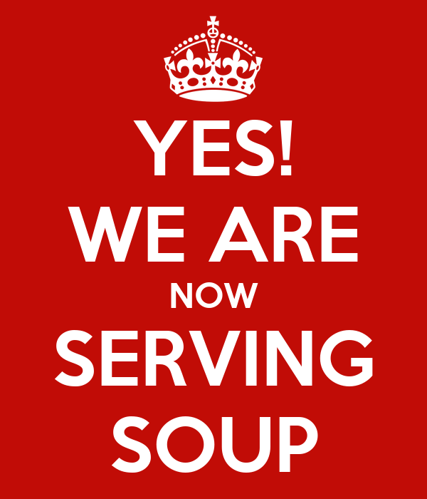 now serving