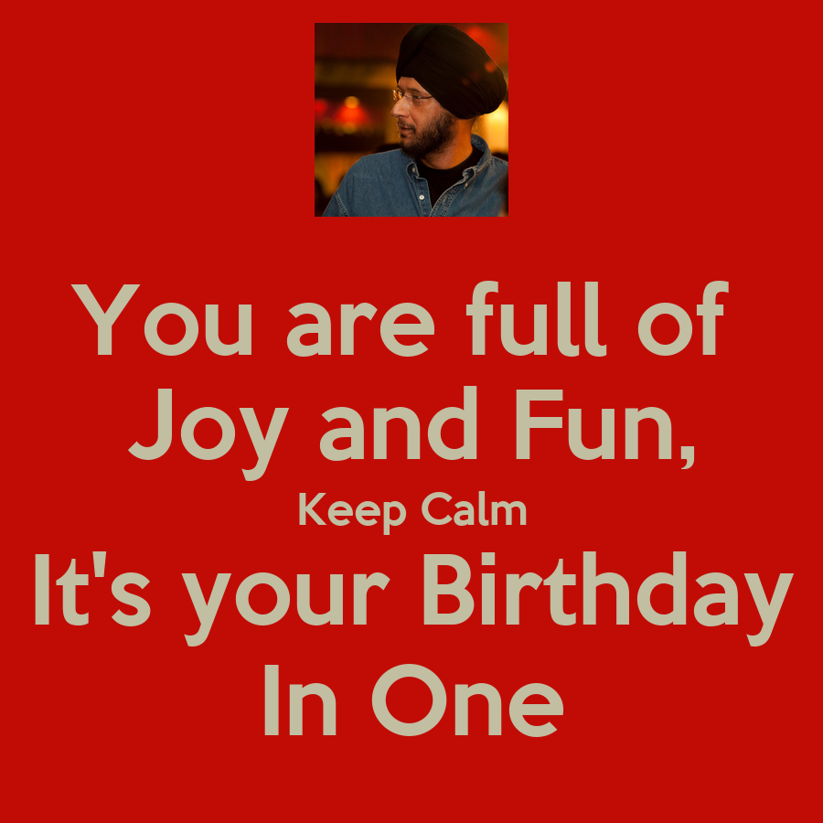 joy and fun