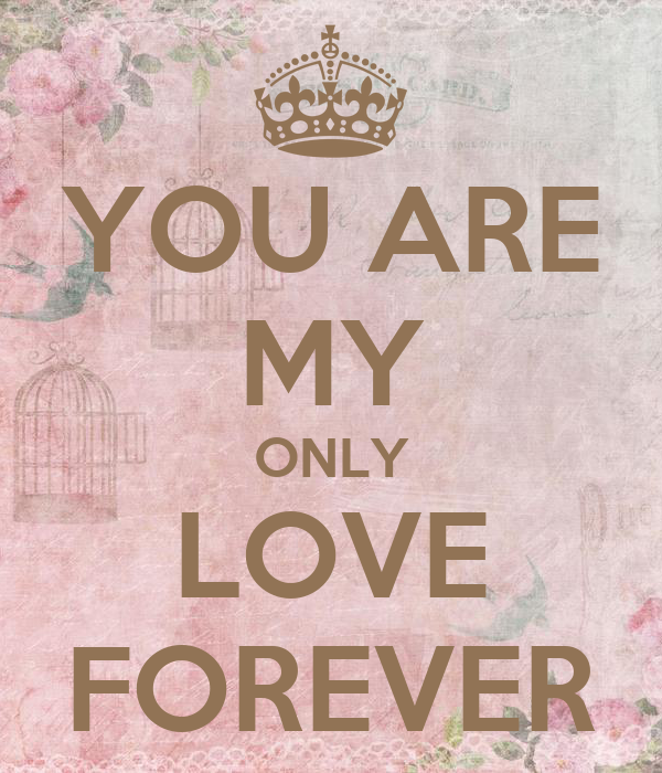 My Only Love For You