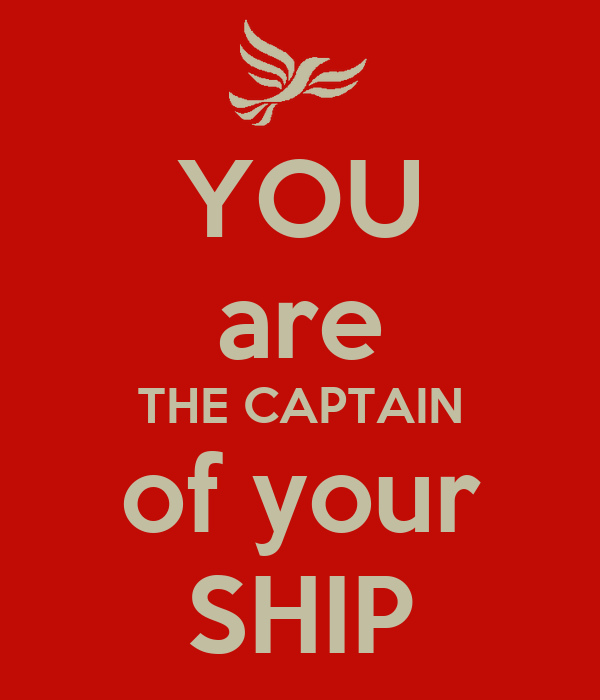 your ship: