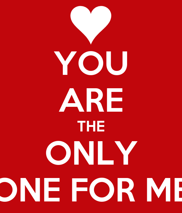 you are the only one for me poster cacca keep calm o matic