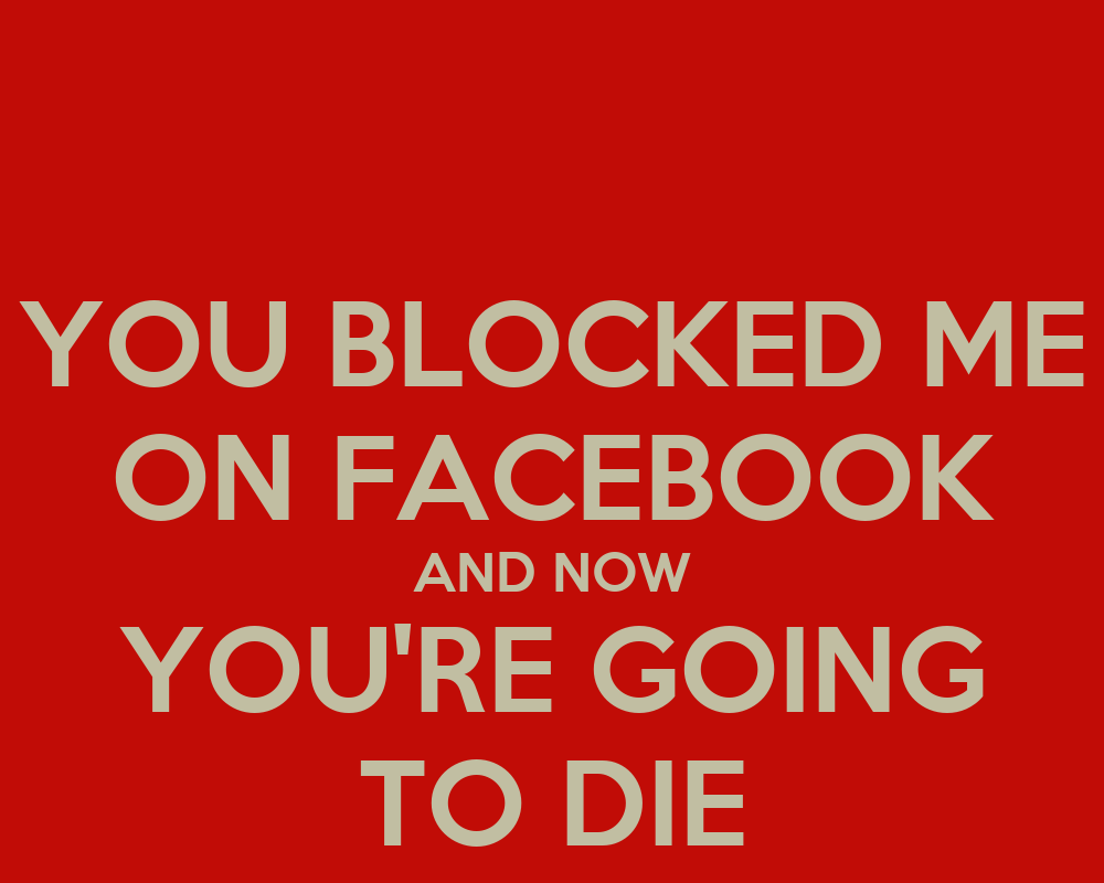 how to know who blocked me on facebook