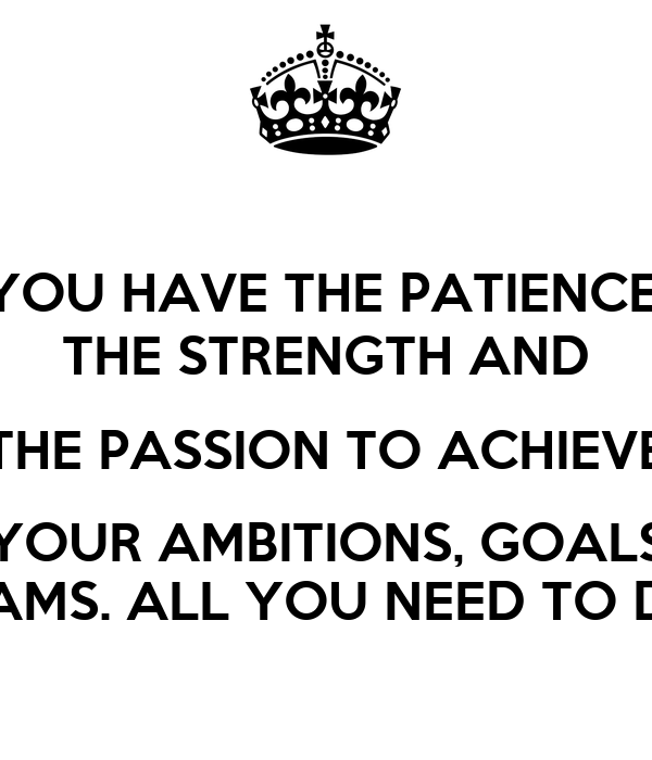 essay on goals and ambitions