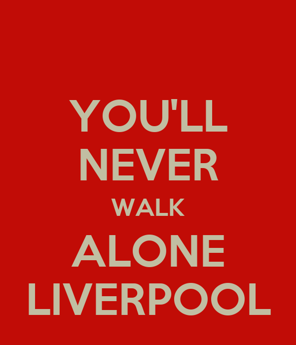 you 39 ll never walk alone liverpool poster atsuka keep calm o matic. Black Bedroom Furniture Sets. Home Design Ideas