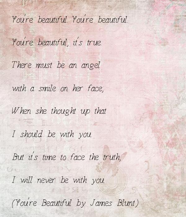 You Re Wonderful: You're Beautiful. You're Beautiful. You're Beautiful, It's