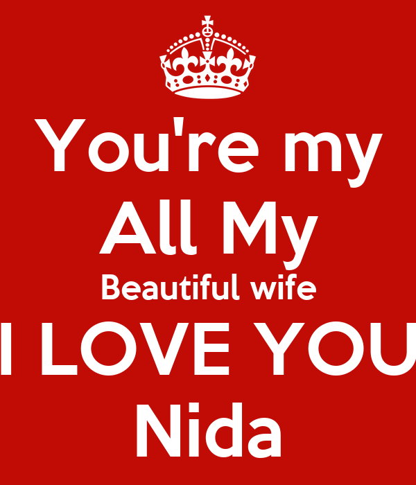 Don t love my wife