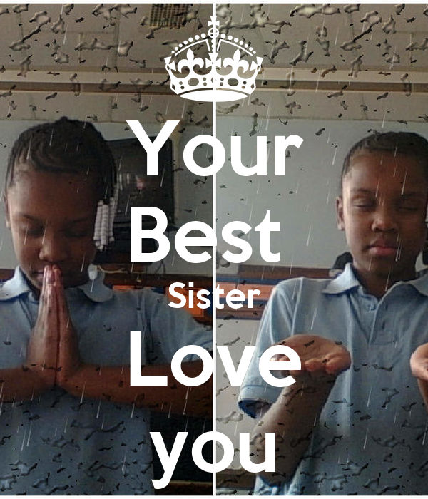 Love You Sis Hawa: Your Best Sister Love You Poster