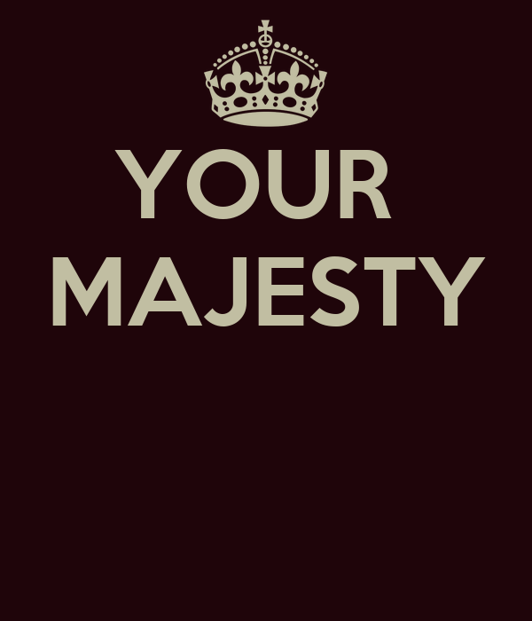 YOUR MAJESTY Poster | ZAZA