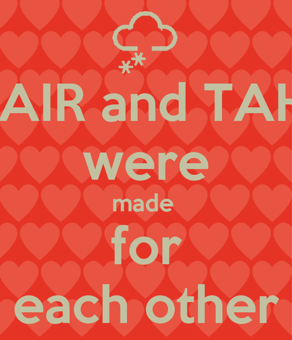 ZUBAIR And TAHIRA Were Made For Each Other